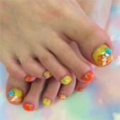 イエロー+オレンジ(フット)